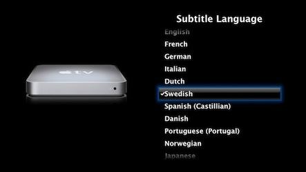 netflix how to change language on apple tv