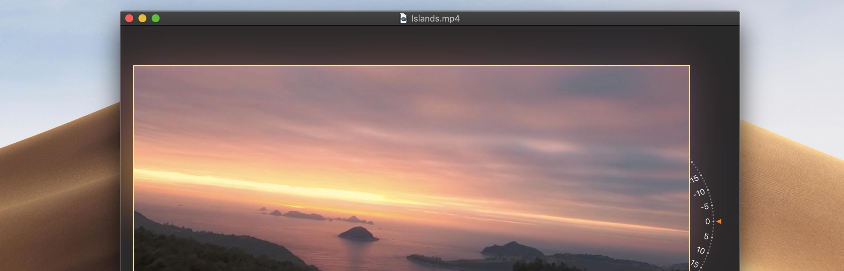 Perfect Horizon Mac 破解版 非常专业的视频编辑软件-麦氪派