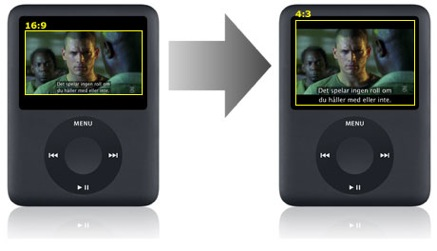 how to change volume setting ipod nano with pin
